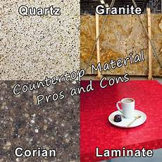 Kitchen Countertops Granite Vs Laminate by Countertop Selection Guide Quartz Vs Granite Vs Corian
