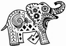 Malvorlagen Elefant Xxi Pin Auf Indischer Elefant
