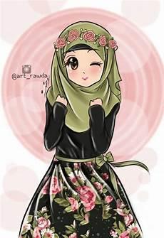Gambar Kartun Muslimah Ber Enam Top Gambar