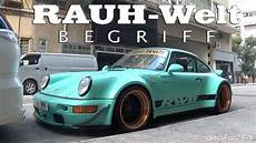 Rauh Welt Begriff Widebody Porsche 911 964 Quot