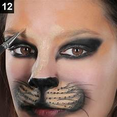 katze schminken erwachsene faschings schminktipp so gelingt ein wildes katzen make