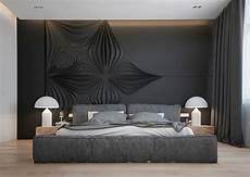 design schlafzimmer ideen gro 223 z 252 giges schlafzimmer in anthrazit mit polsterbett interior schlafzimmer raumgestaltung