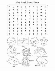 nature printable worksheets for preschool 15119 word search puzzle nature free word search puzzle nature for best coloring