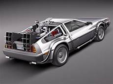 delorean modell schwebend delorean dmc 12 back to the future 3d model 3d model max