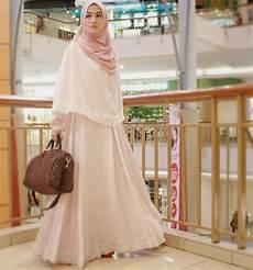 10 Gambar Model Baju Syar I Muslimah Terbaru 2017