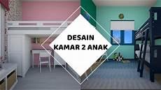 Desain Kamar Minimalis 2 Anak Ukuran 3 5 M X 3 5 M