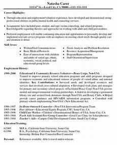 volunteer experience resume exles good resume exles sle resume