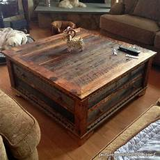 Country Roads Alder Wood Square Coffee Table