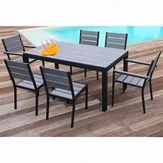 Floride Ensemble Table De Jardin 160 Cm 2 Fauteuils 4