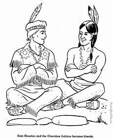Gratis Malvorlagen Indianer American Coloring Pages To And Print For Free