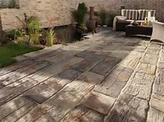 Terrassenplatten Nature Garten