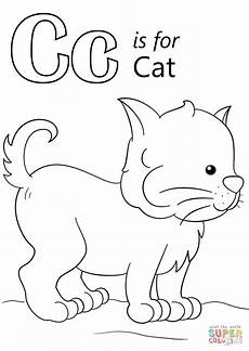 letter c worksheets coloring 24041 letter c is for cat coloring page from letter c category select from 27001 printable crafts of