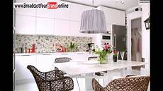 Moderne Küchen Tapeten - tapeten k 252 che ideen wei 223 e k 252 chenschr 228 nke rattan st 252 hle