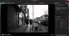 convert color photos to black and white in aftershot pro