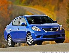 Cheapest Car In The Us Market by Nissan Versa 10 Cheapest New Cars In America Cnnmoney