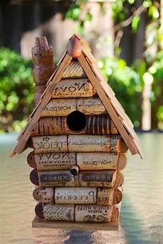 Korken Vogelhaus Vogel Ideen Korken