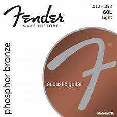 guitar strings 12 53 kaufe fender phosphor bronze 60l strings for acoustic guitar 12 53