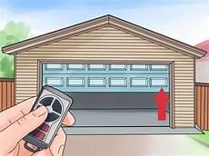 e garage door how to install a garage door opener with pictures wikihow