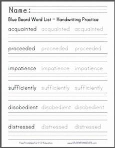 free printable handwriting worksheets for middle school students 21785 click here for this handwriting practice worksheet featuring terms from the text in print