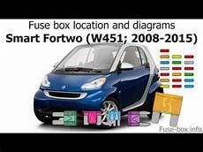 2008 smart car fuse box location fuse box location and diagrams smart fortwo w451 2008 2015