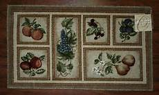 Kitchen Area Rugs With Fruit by Apple Kitchen Rug Ebay