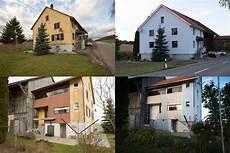 Fassade Vorher Nachher Vergleich Bau Ernhaus