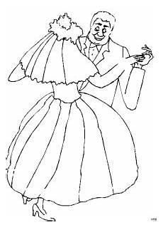 Brautpaar Ausmalbilder Malvorlagen Brautpaar Tanzend Ausmalbild Malvorlage Gemischt