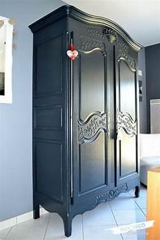 armoire normande r 233 nov 233 e peinte en gris anthracite