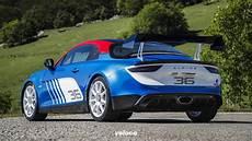 Alpine A110 Rally La Francese Corre Per Strada Veloce