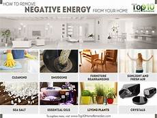 how to remove negative energy from your home home
