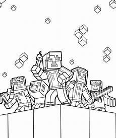 Minecraft Malvorlagen 30 Beste Ausmalbilder Minecraft Zum Ausdrucken In 2020
