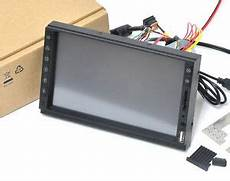 2din in dash 7 quot samsung hdmi touch screen monitor kit usb