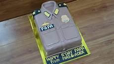 Cara Membuat Kue Ulang Tahun Baju Polisi