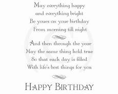 birthday card inserts greeting card inserts for handmade cards birthday verses for cards