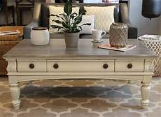 chalk painted coffee table painted coffee tables diy