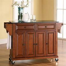 crosley furniture brown craftsman kitchen island at lowes com