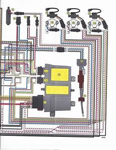 2008 evinrude wiring diagram 2008 etec 75 while launching fired up backed trailer put in forward gear and motor died