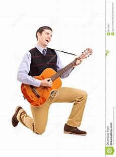 A Guitar And Singing Stock Photos Image