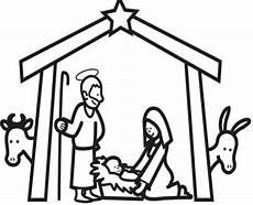 Malvorlage Bethlehem Ausmalbild Weihnachten Im Stall Bethlehem Kostenlos
