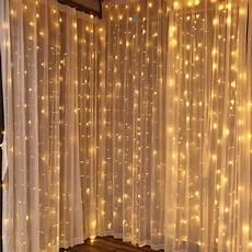 torchstar 9 8ft 9 8ft led curtain lights starry christmas string light icicle light