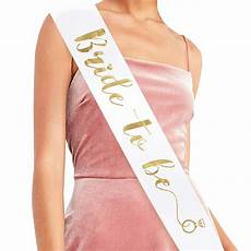 to be sash bachelorette party bridal shower hen wedding decorations favors accessories in