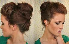 bouffant bun hairstyle the freckled fox hair tutorial the bouffant bun