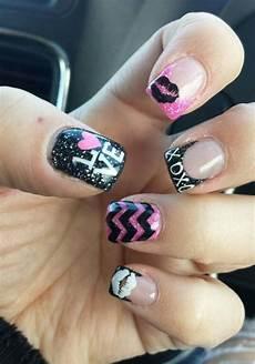 valentines gel nails gel nails nail designs valentines