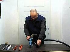 loch in kunststoff reparieren klemmverbinder f 252 r den reparaturfall stahl und pe