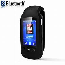 hongyu portable bluetooth mp3 player 8gb clip sport