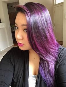 purple hair color dsk steph purple ombre hair color