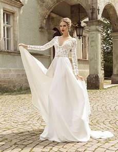Sleeve Wedding Gowns Lace