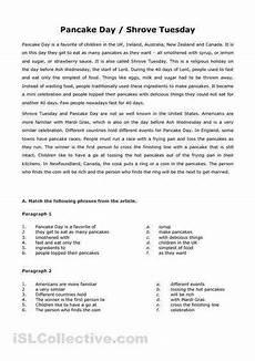 high school reading comprehension worksheets
