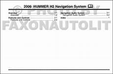 auto manual repair 2006 hummer h2 navigation system 2006 hummer h2 navigation system owners manual original