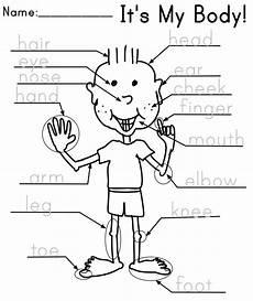 body parts printable worksheets for preschoolers 15 best images of esl worksheets preschool kindergarten